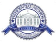 Presidential Award for Excellence in Math and Science Teaching logo