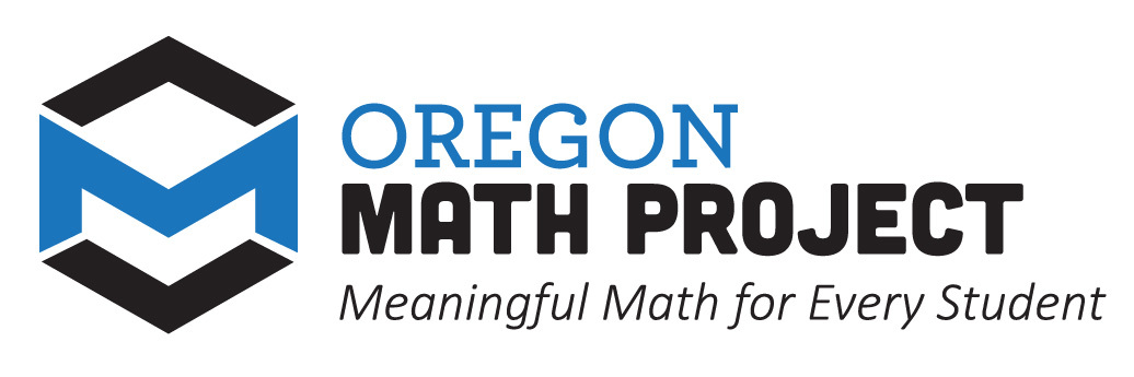 Oregon Math Project logo
