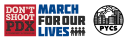 Logo for March for Change Student Summit