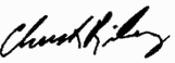 Sen. Riley signature