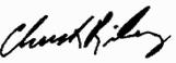 Sen. Riley signature