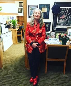 Carla Piluso In Office