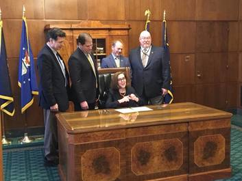 EOU Bill Signing