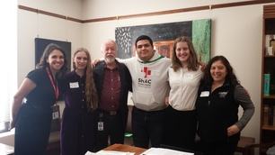 Meeting with Forest Grove High School Students