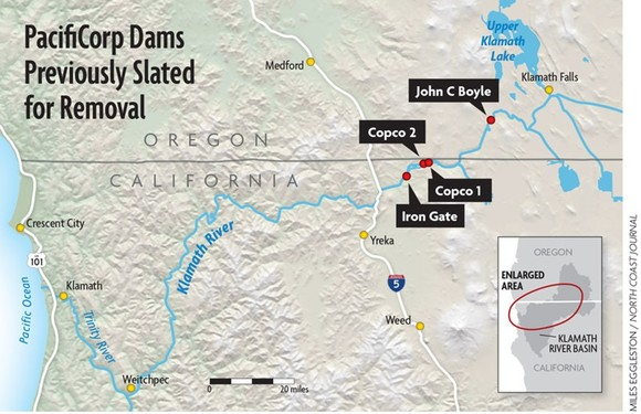 Four Dams Scheduled for Destruction