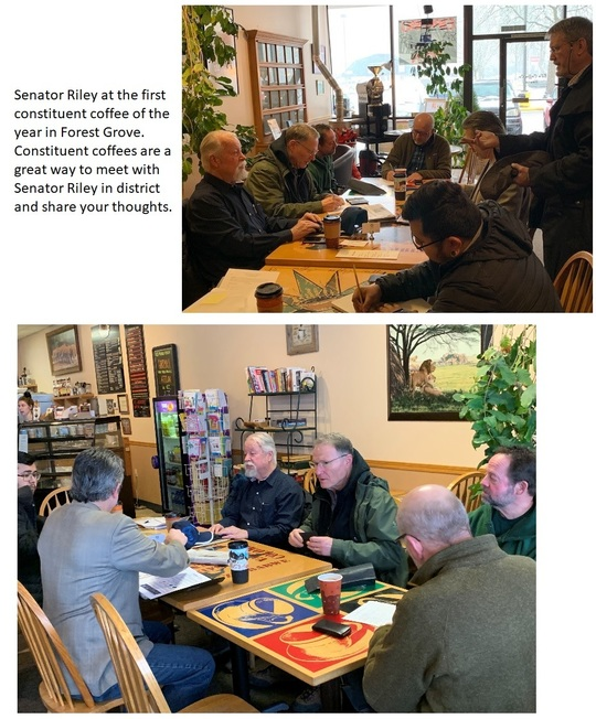February 2019 Forest Grove Constituent Coffee