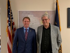 Meeting with Roger Olsen