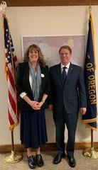 Wendy Niskanen from the Oregon School Nurses Association