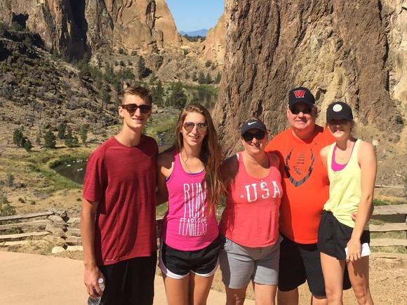 Boles Family Hiking