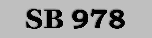 SB 978