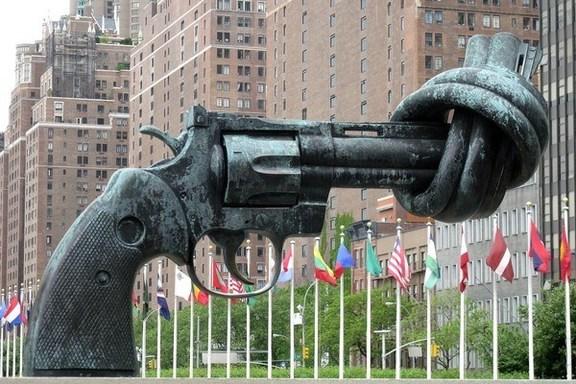 Knotted UN Gun