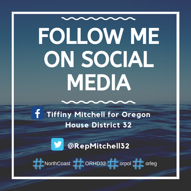 Follow Me on Social Media!