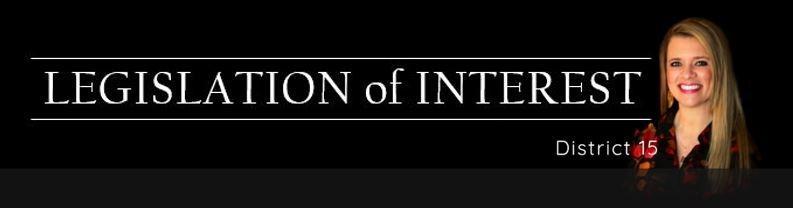 Legislation of Interest