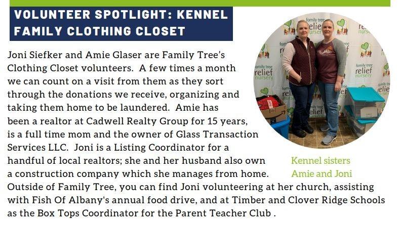 Volunteer at Family Tree