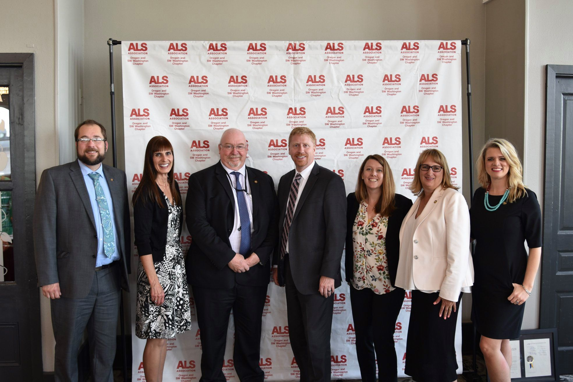 Rep. Findley and Colleagues at an ALS Fundraiser
