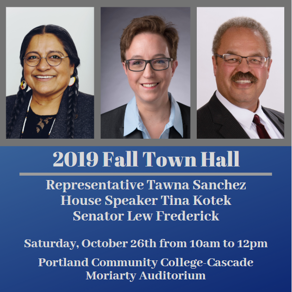 2019 Fall Town Hall