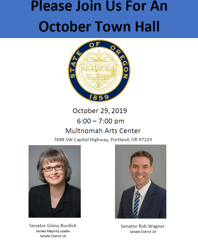 town hall flyer