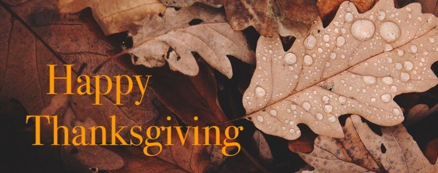 Happy Thanksgiving image of leaves