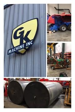 GK Machine, Inc. photo collage