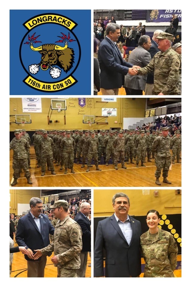 11-03-19 Mobilization Ceremony - 116th Air Control Squadron of the Oregon Air National Guard
