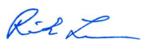 Rick Lewis signature