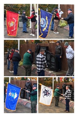 11-11-19 Veterans ceremony at Townsquare Park in Silverton