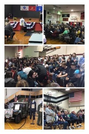 11-08-19 Molalla & Silverton Middle School Veterans Assemblies