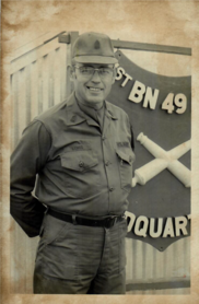Rep. Lewis's father's military photo