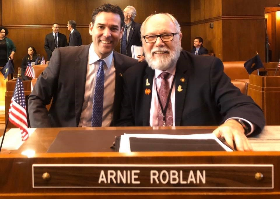 Sen Roblan Senate Floor