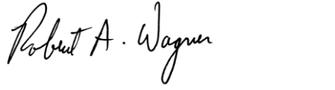 Senator Wagner Signature
