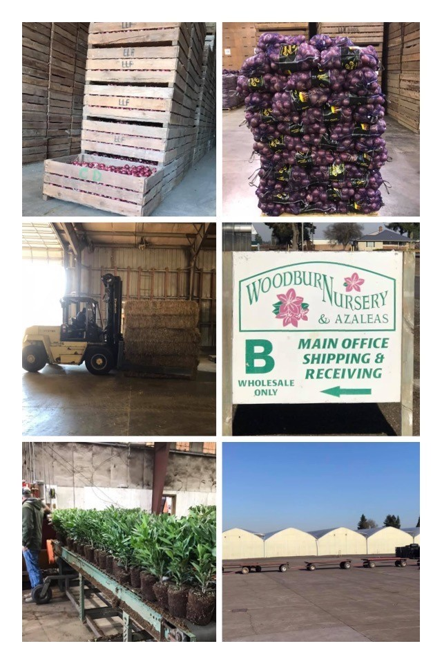 11-22-19 Oregon Farm Bureau area farms & nurseries tour photo collage