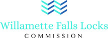 Willamette Falls Locks logo