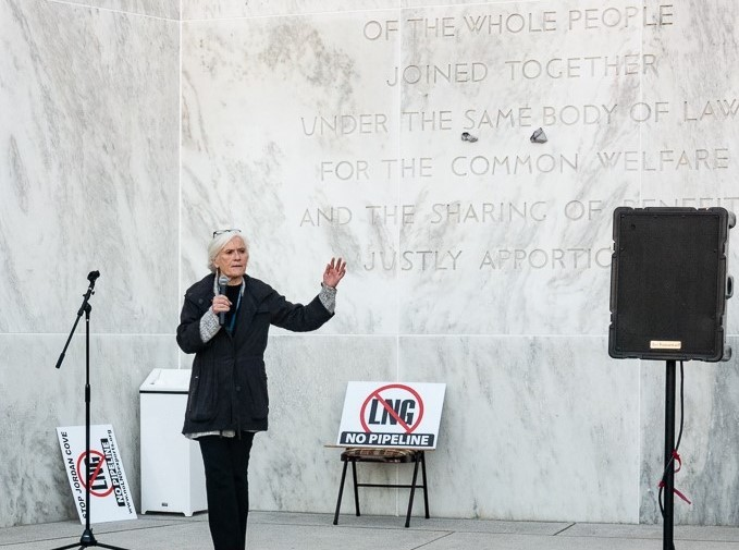 Photo: NO LNG Rally at the Capitol, Nov 19