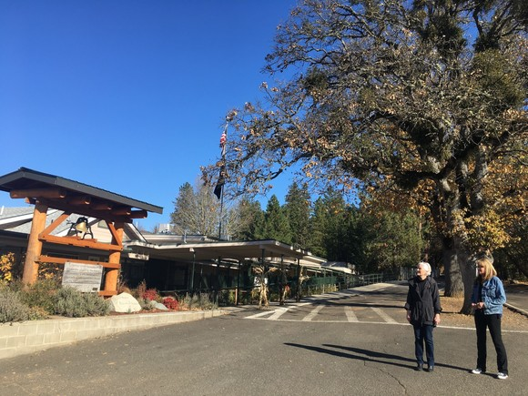 Photo: Touring Ruch Outdoor Community School, Nov 2019