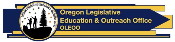 Oregon Legisltive Education & Outreach Office logo