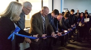 Marion County Juvenile Department Ribbon Cutting photo