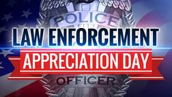 National Law Enforcement Appreciation Day graphics