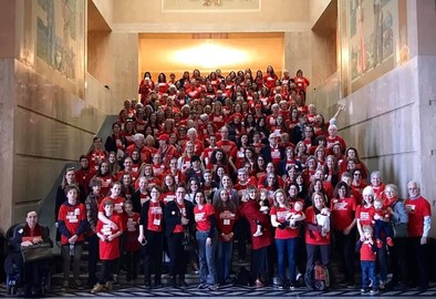 Moms Demand Action Group Shot