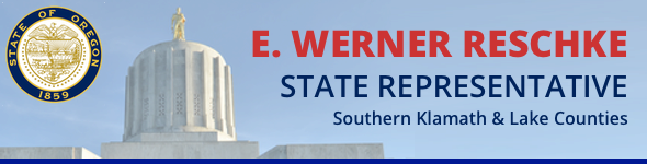 Newsletter from Representative Reschke