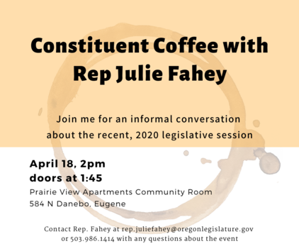 constituent coffee announcement