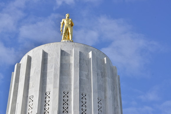 Capitol Gold Man