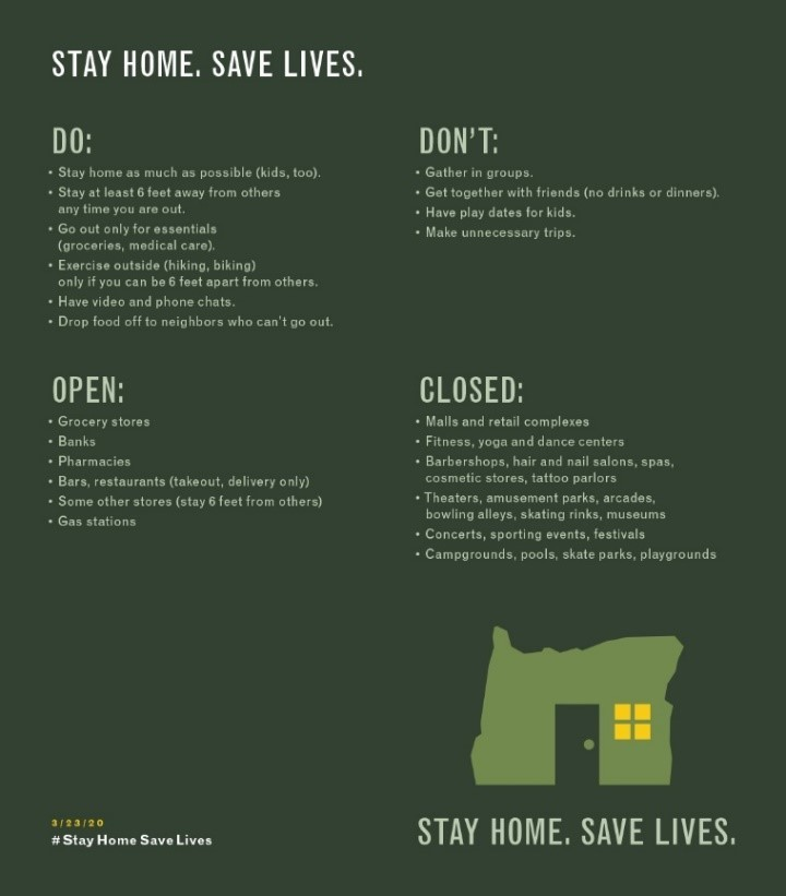 Stay Home Saves Lives