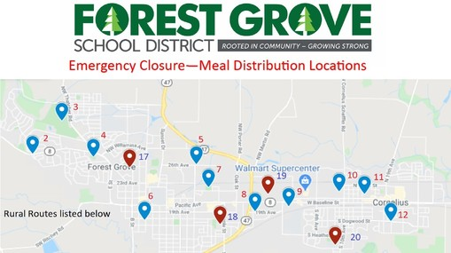 Forest Grove Food Sites