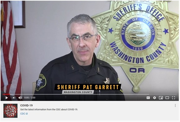 Sheriff Garrett Video