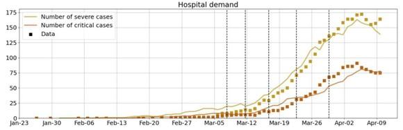 IDM COVID-19 Hospital Demand