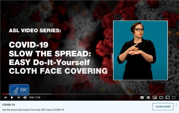 CDC-ASL video