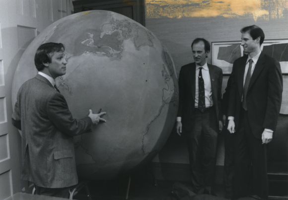 Wyden and Blumenauer Earth day 1990