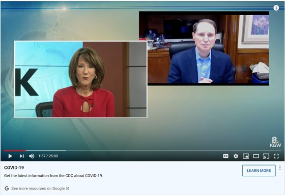 Wyden and Colt Gill on Straight Talk