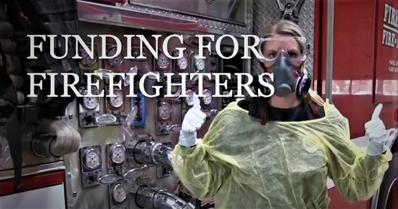 FUNDING FOR FIREFIGHTERS