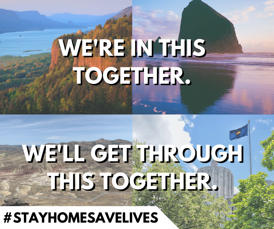 We are in this together, we will get through this together: United Oregon